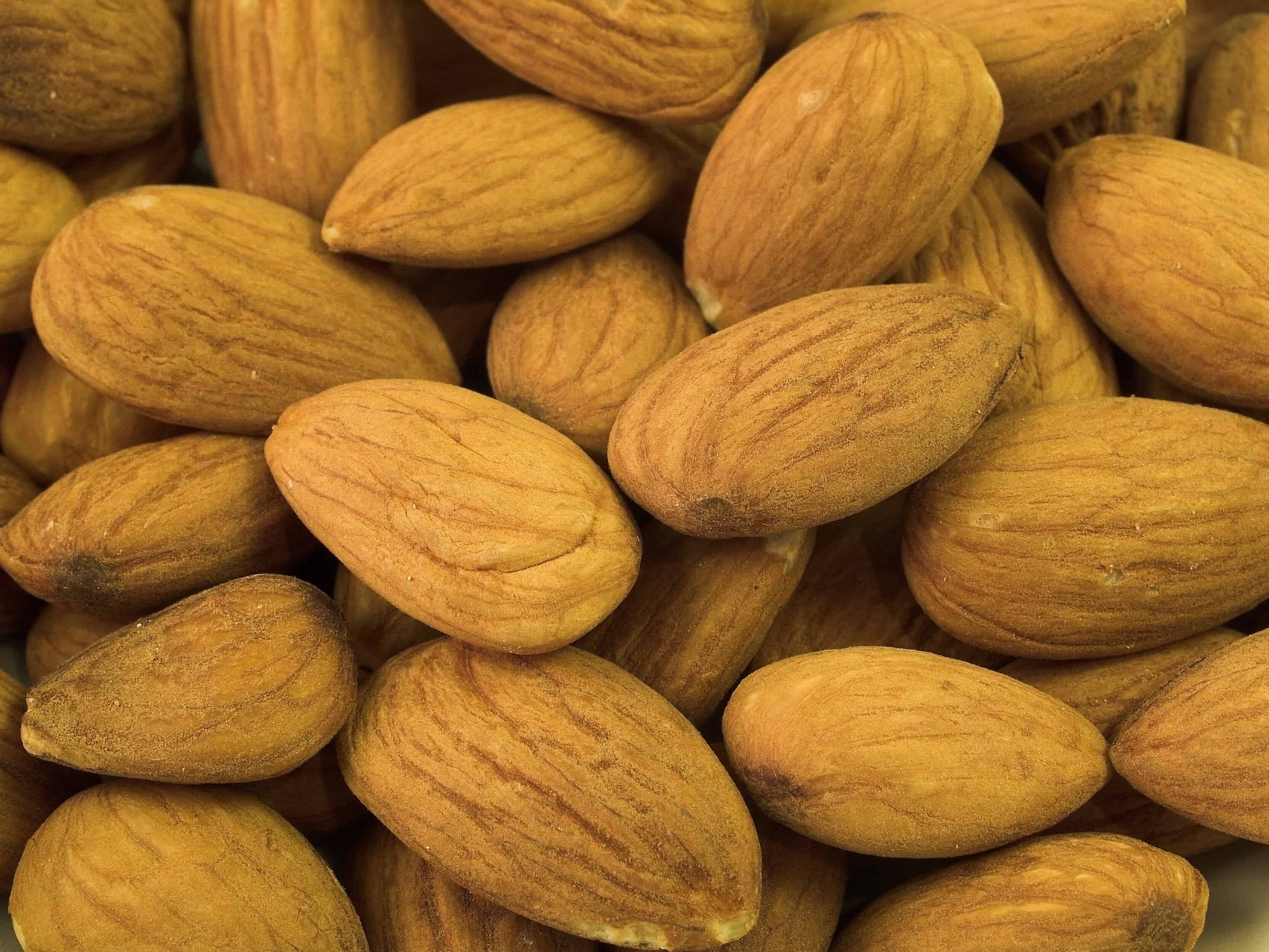 almonds prevent grey hair