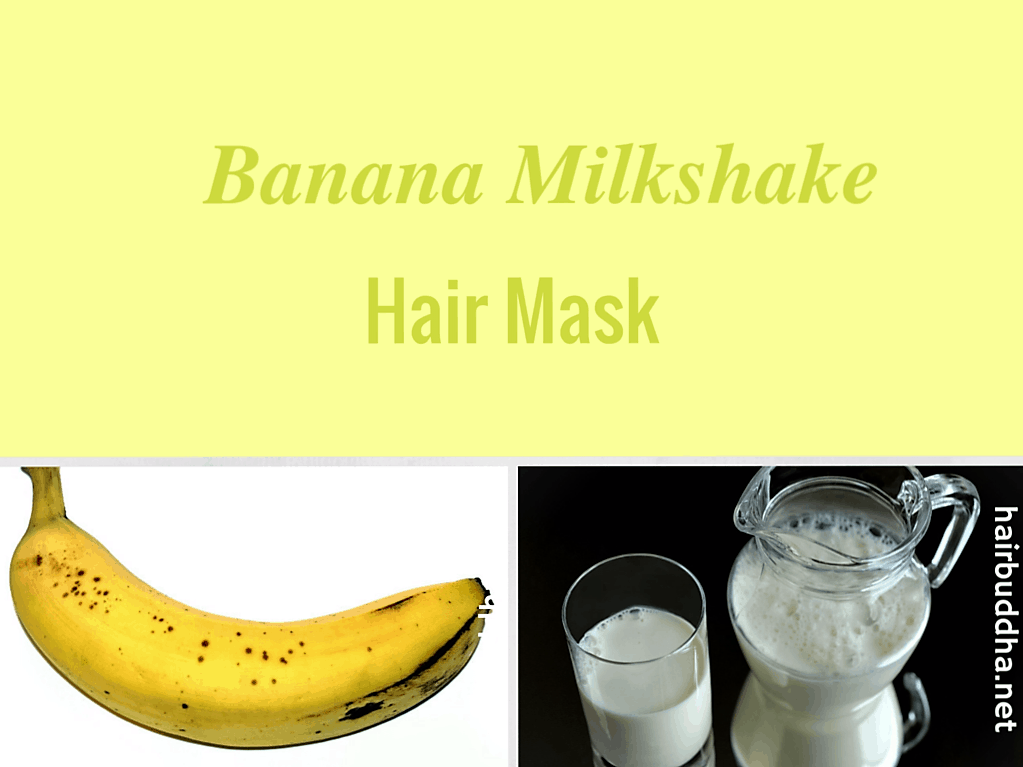 banana milkshake hair mask