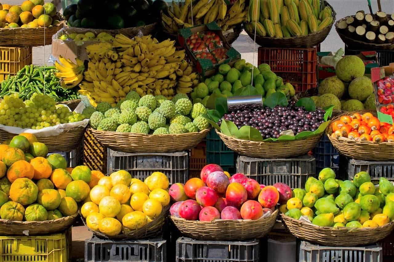 fruits and veggies for good hair