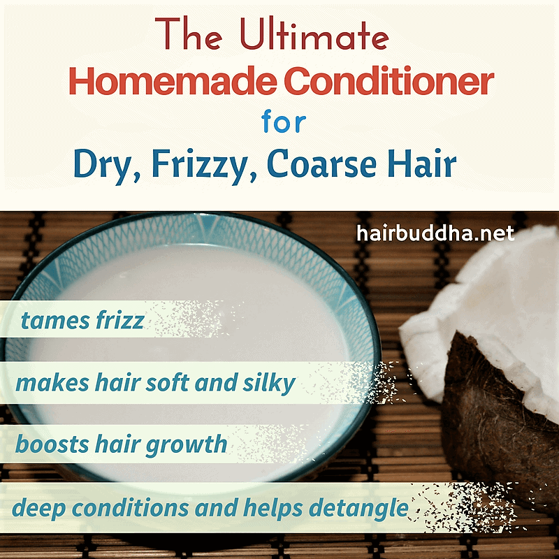 The Ultimate Hair Mask for dry frizzy coarse hair