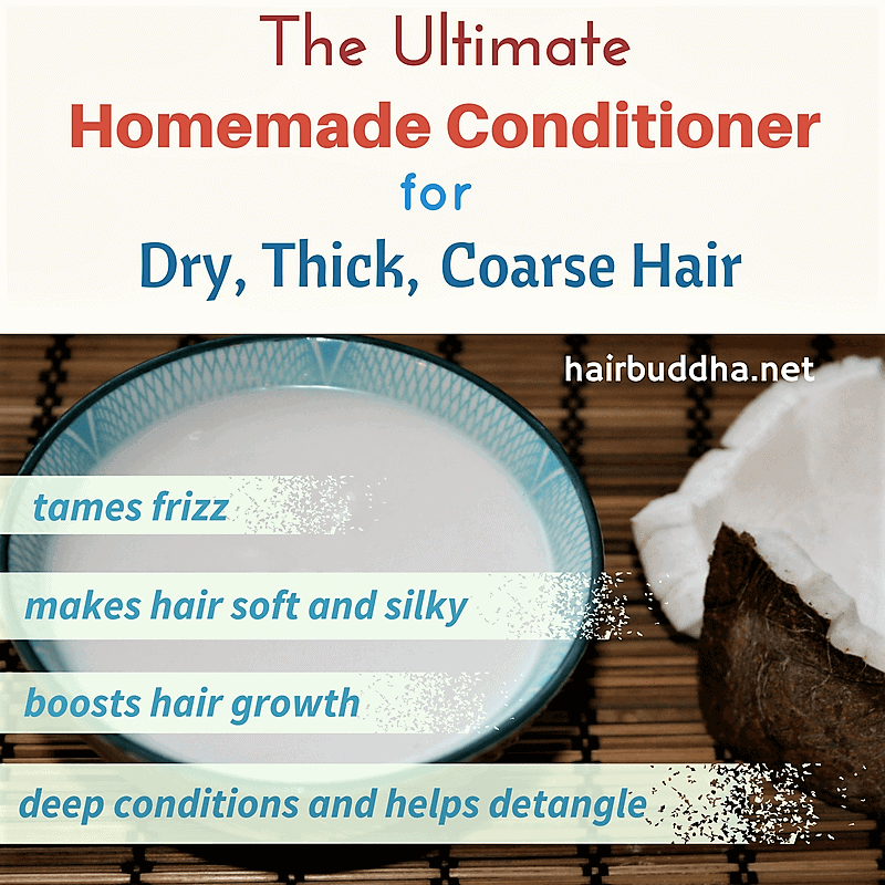 The Ultimate conditioner for dry thick coarse hair