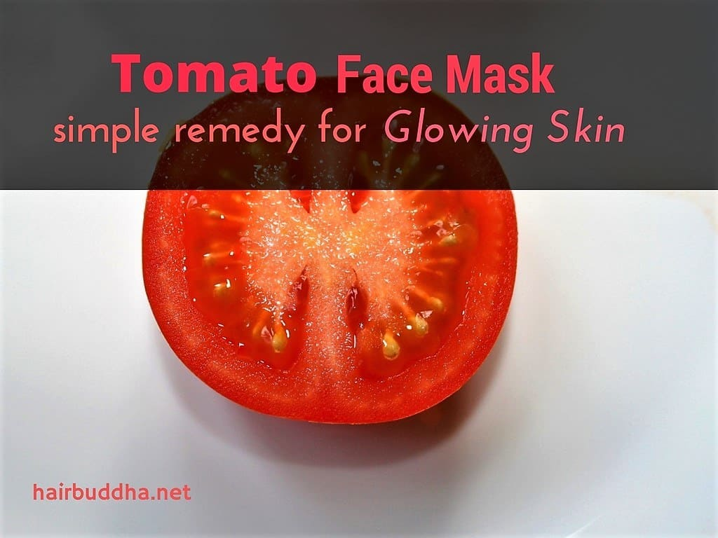 tomato simple face mask
