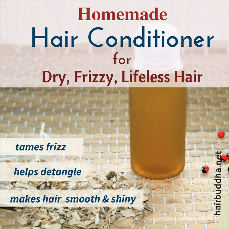 homemade conditioner with one ingredient