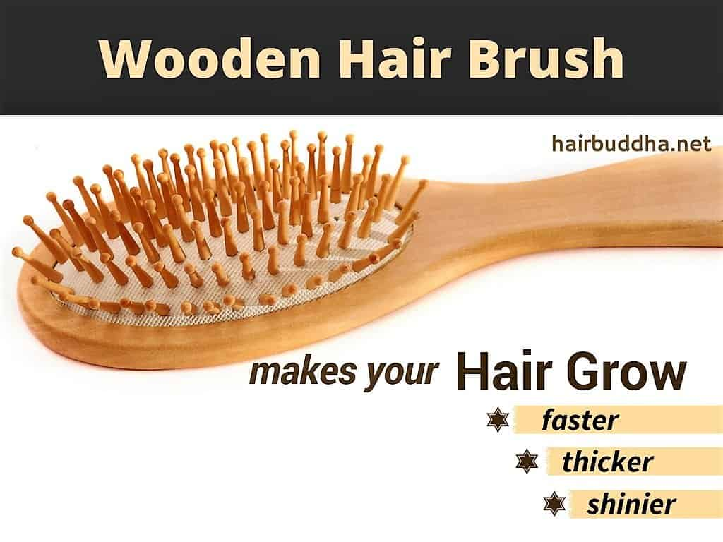 Wooden brush for your hair